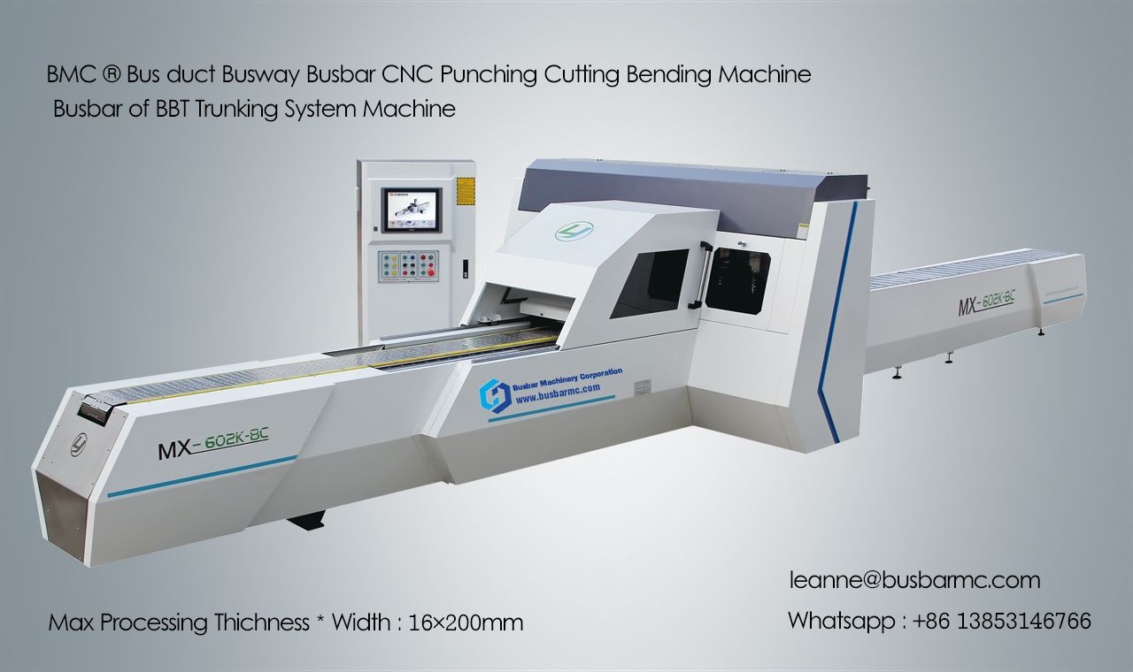 MX602K-8C CNC Busway Machine Copper punching cutting machine